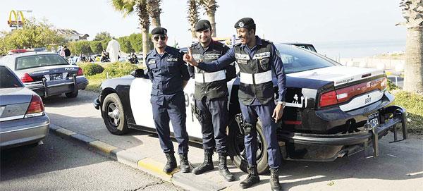 Cảnh sát Kuwait