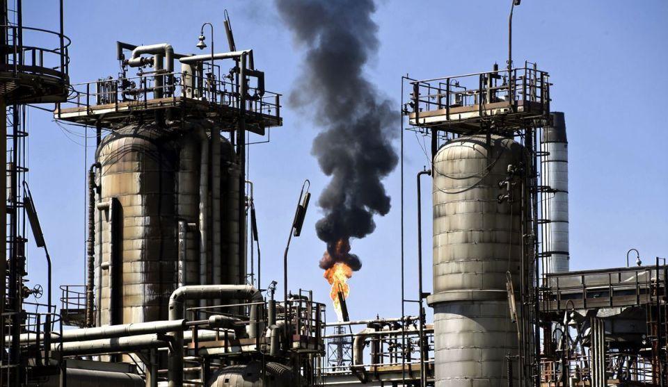 khai thác dầu tại Kuwait