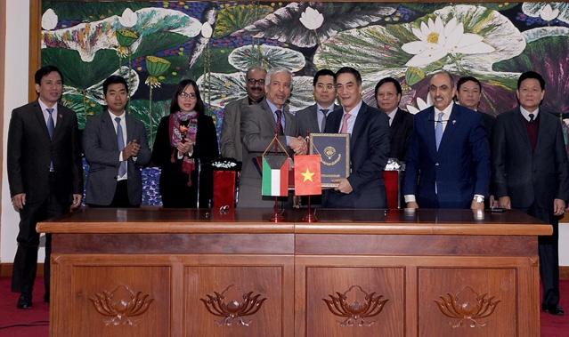 Lễ ký kết hiệp định