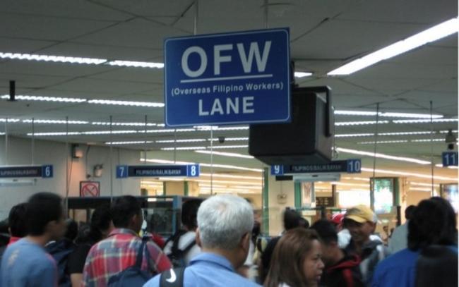 Nguồn tiền mà người Philippines làm việc ở nước ngoài