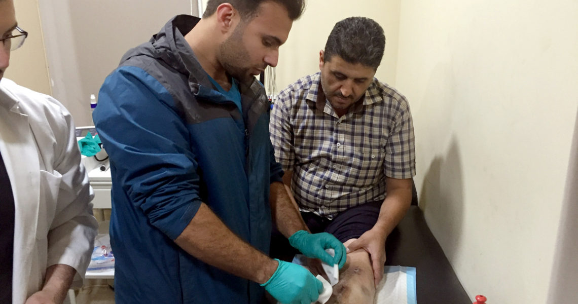 Nhân viên y tế tại Kuwait