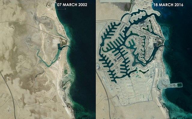 Vùng sa mạc nóng bỏng giữa Kuwait và Ả Rập Saudi