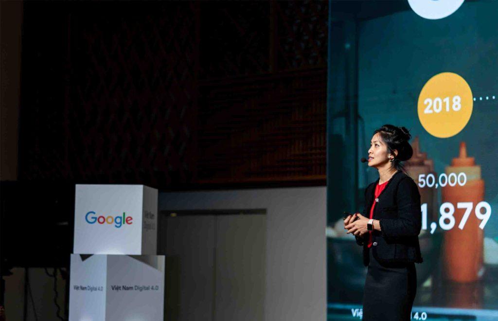 Bà Đỗ Mỹ Ninh, Giám đốc tiếp thị Google tại Việt Nam