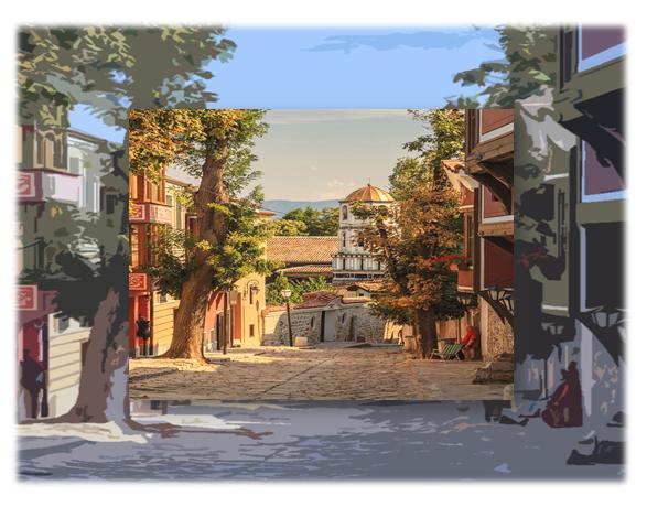 Kapana đã thực sự trở thành một trung tâm khác ở Plovdiv