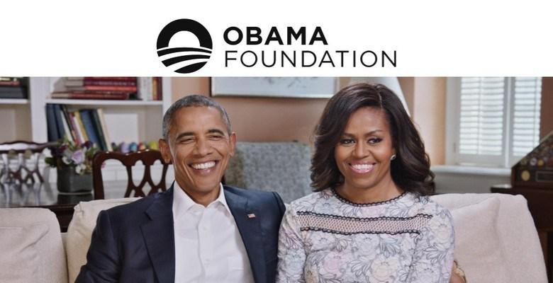 Obama cùng vợ thành lập quỹ Obama Foundation