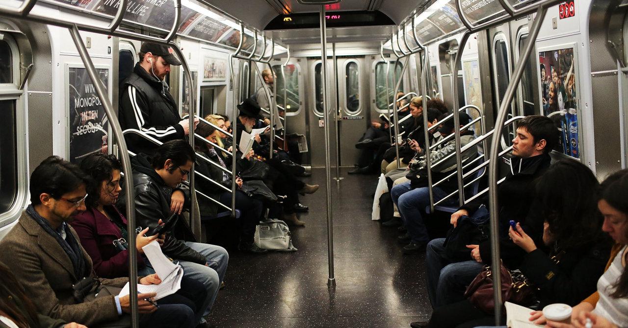 Tàu điện ngầm ở New York