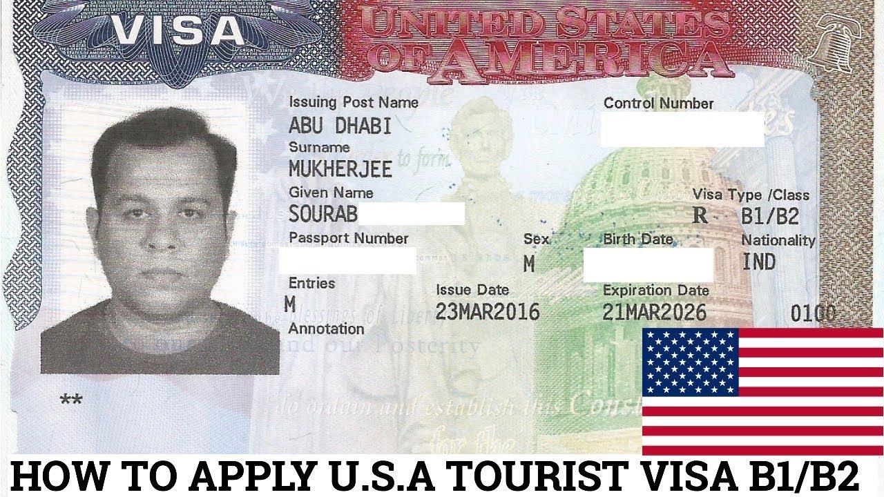Visa mẫu