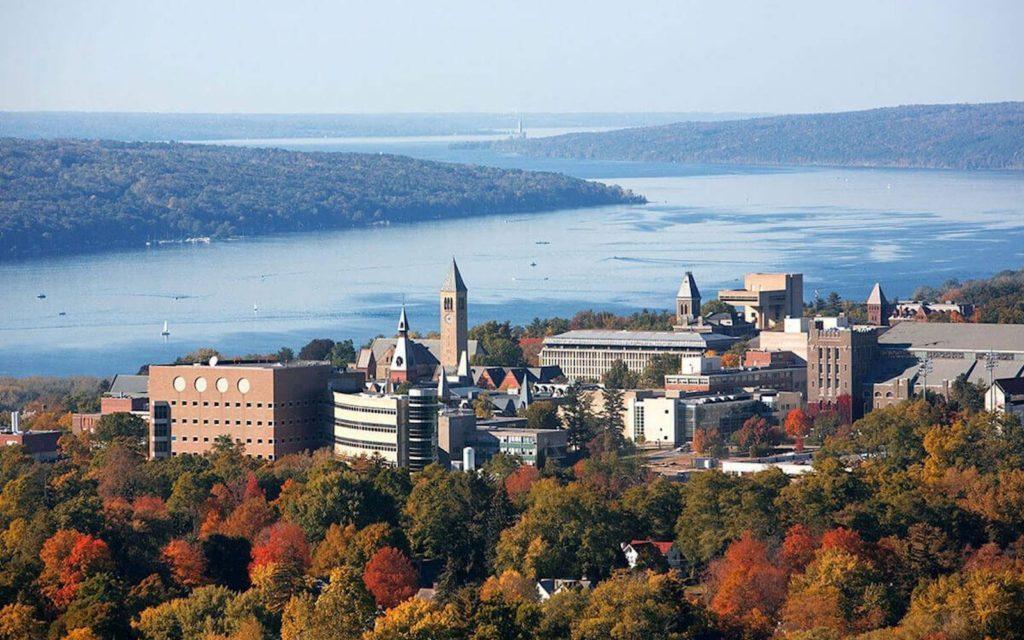Quang cảnh trường đại học Cornell