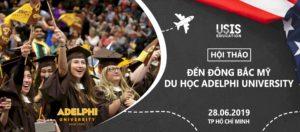 Hội thảo: Đến Đông Bắc Mỹ du học Adelphi University