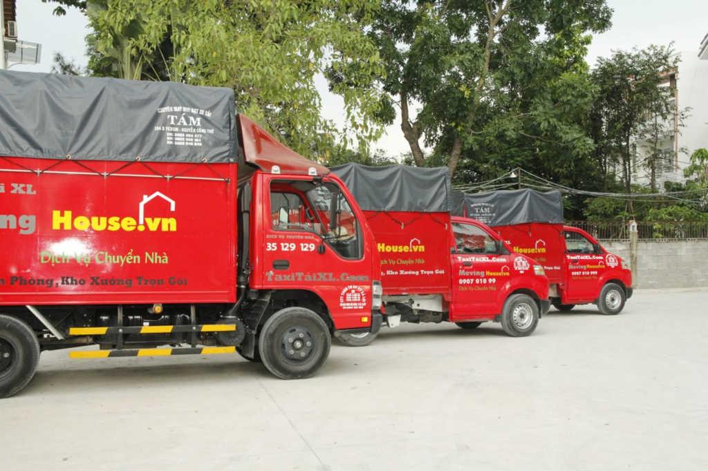 xe tải chuyên dụng của MovingHouse
