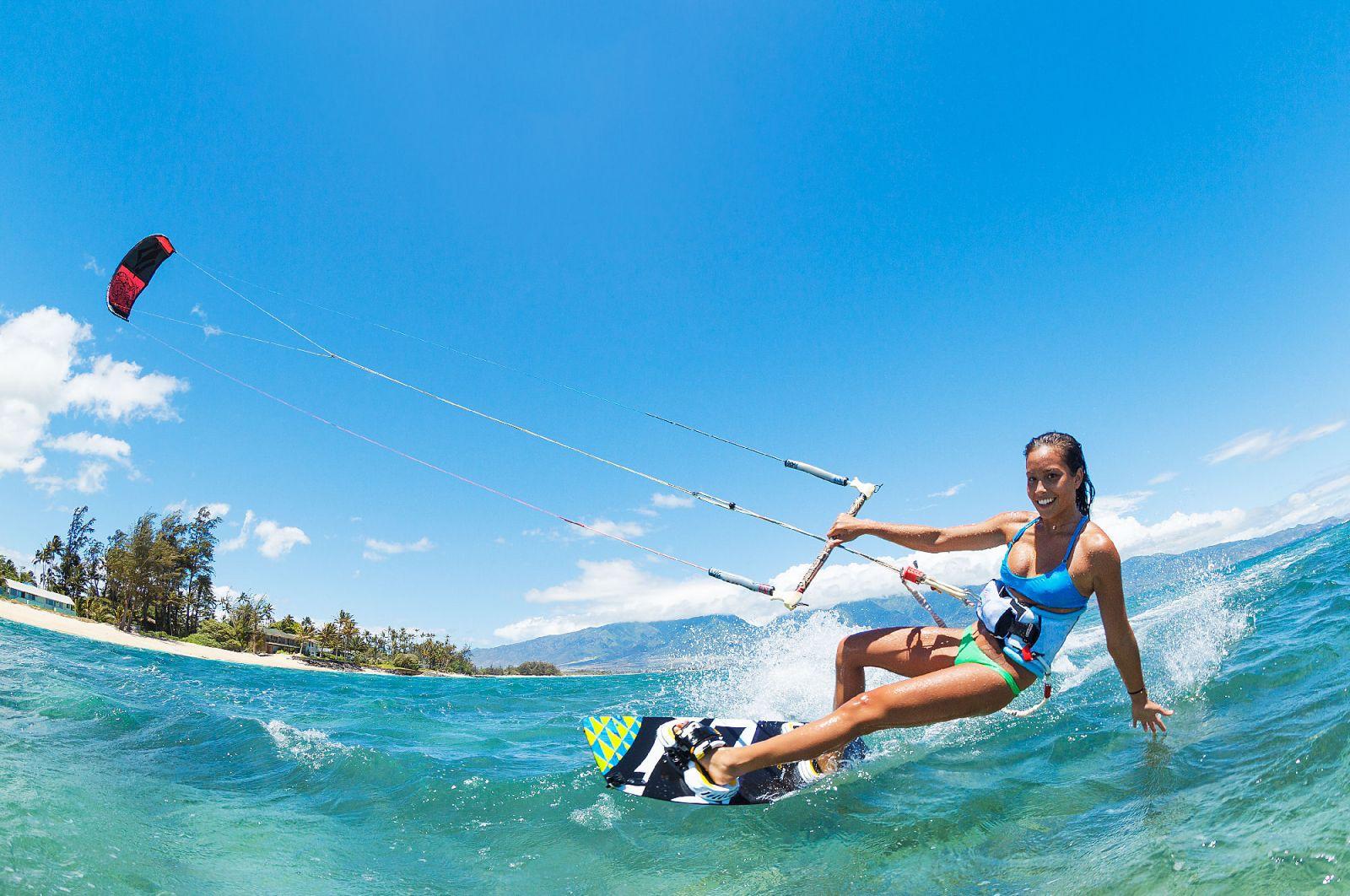 Thể thao mạo hiểm dưới nước tại Hòn Thơm