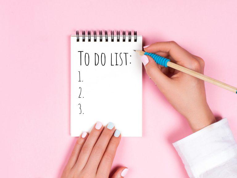 Lên danh sách việc cần làm khi dọn nhà