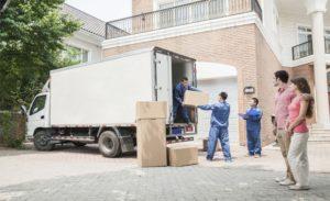 chuyển nhà bằng xe tải