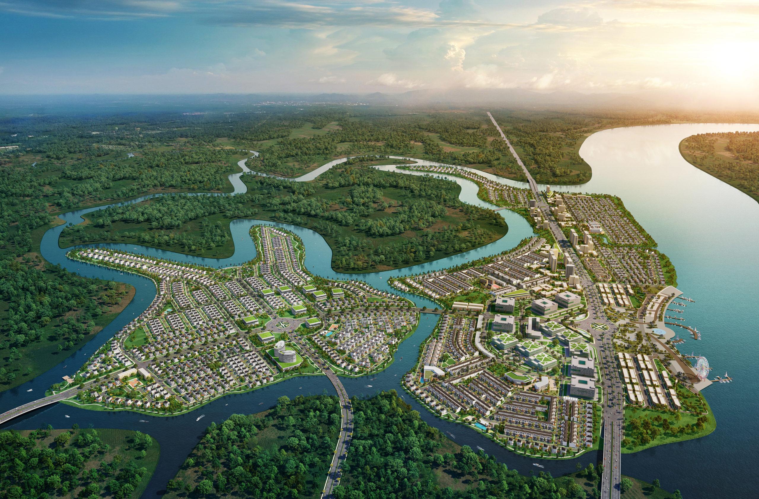 khu đô thị sinh thái