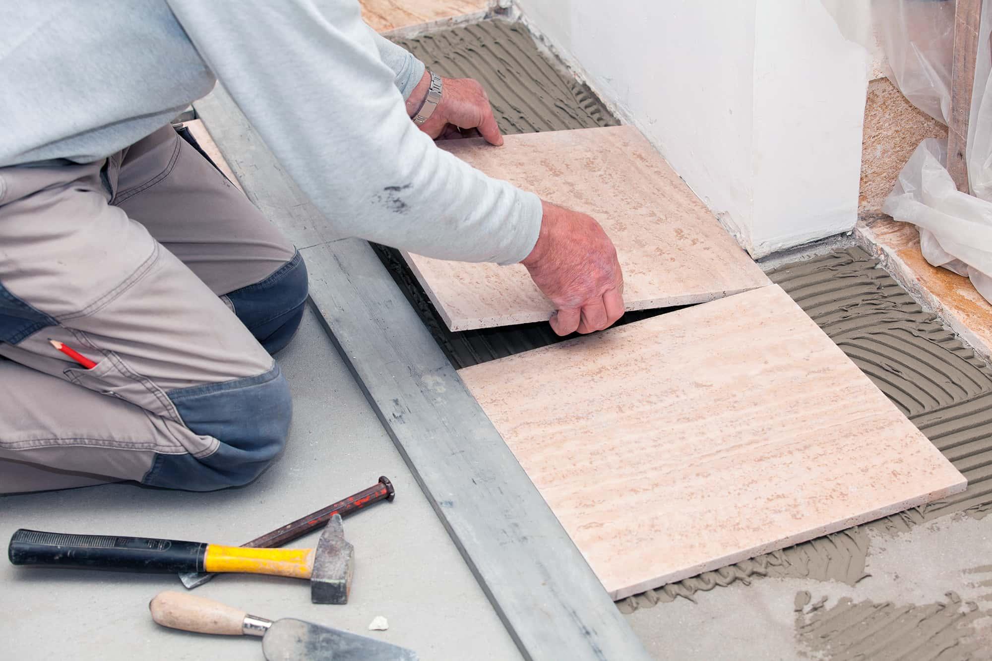 Keo dán gạch phù hợp với nhiều điều kiện thi công khác nhau